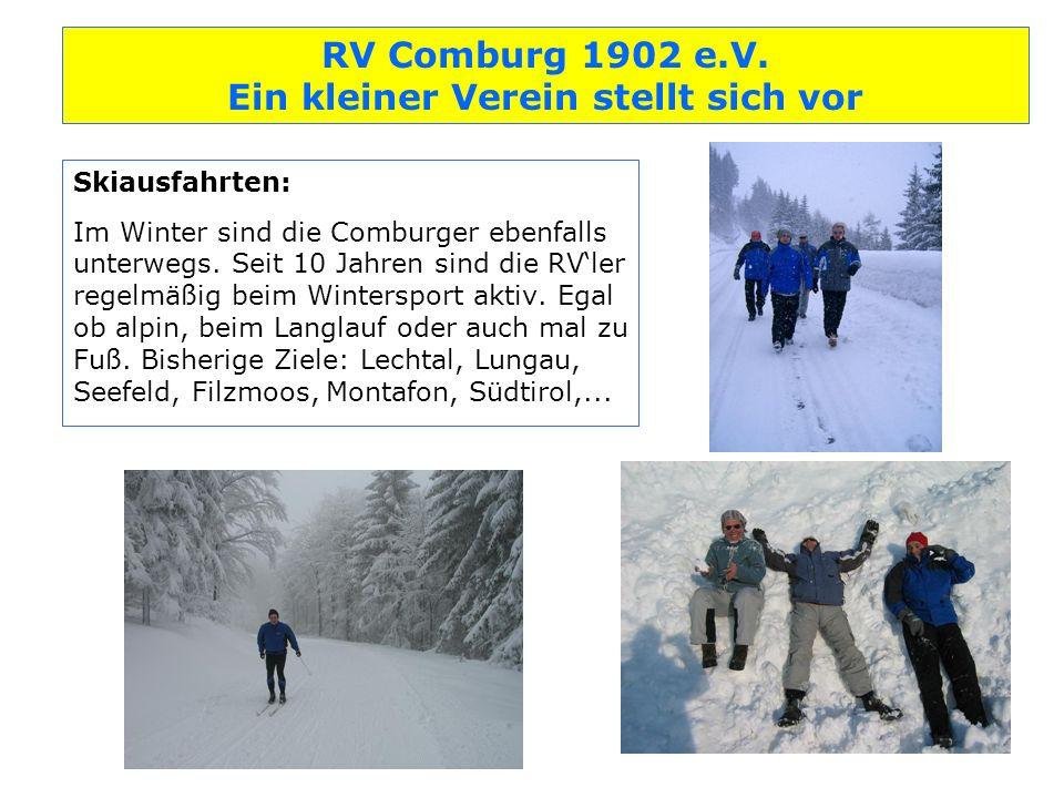 Skiausfahrten: Im Winter sind die Comburger ebenfalls unterwegs