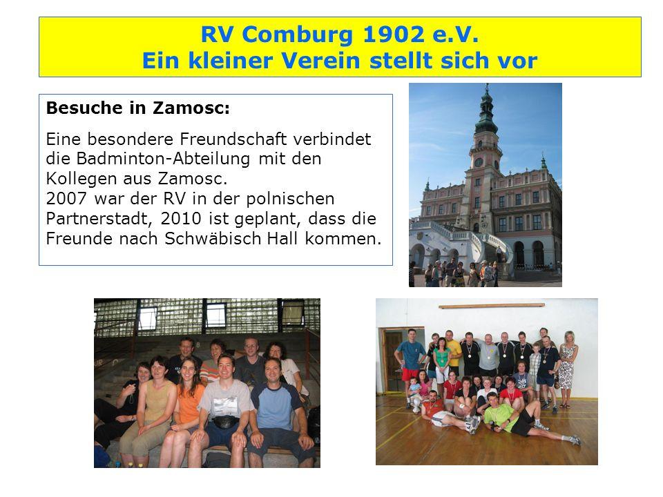 Besuche in Zamosc: Eine besondere Freundschaft verbindet die Badminton-Abteilung mit den Kollegen aus Zamosc.
