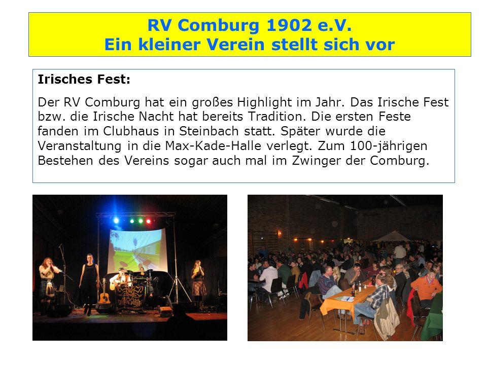 Irisches Fest: Der RV Comburg hat ein großes Highlight im Jahr
