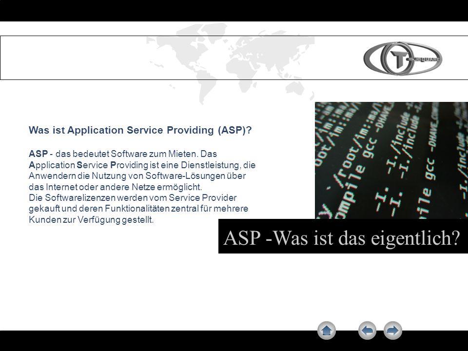  ASP -Was ist das eigentlich