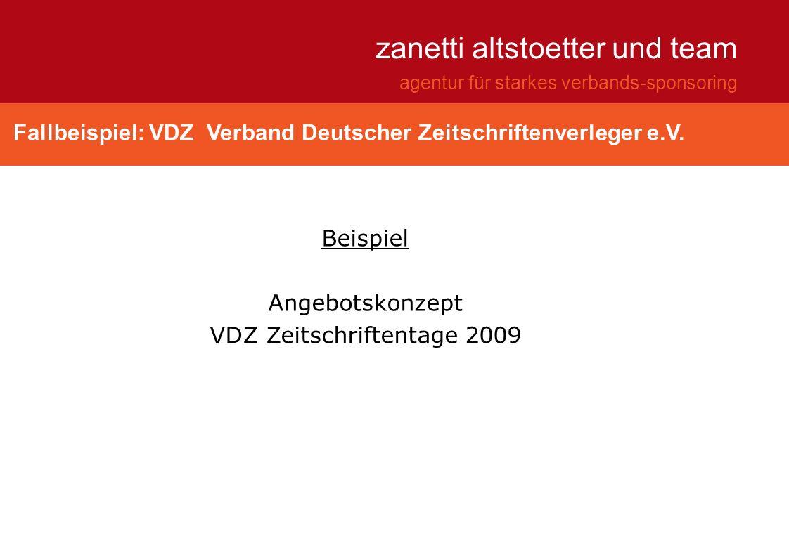 VDZ Zeitschriftentage 2009
