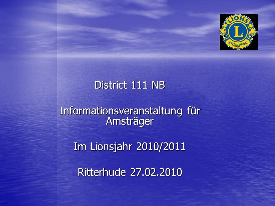 Informationsveranstaltung für Amsträger