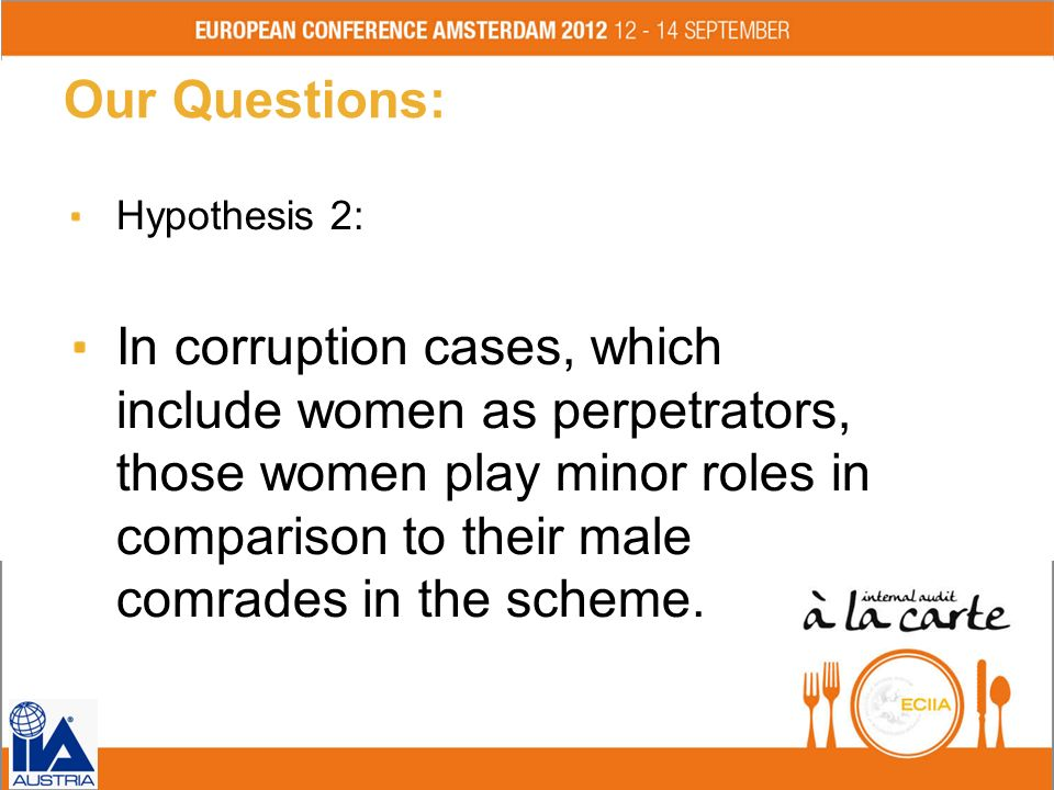 Our Questions: Hypothesis 2: