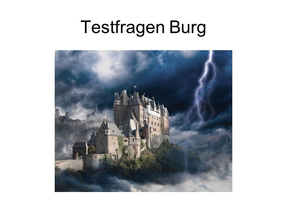 Testfragen Burg