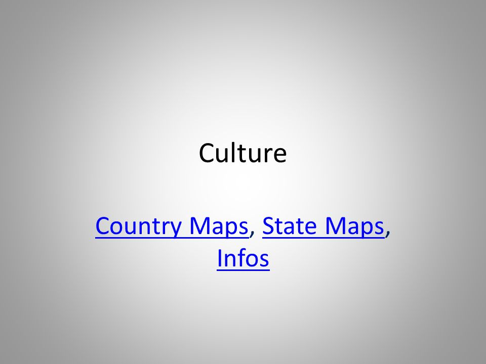 Country Maps, State Maps, Infos