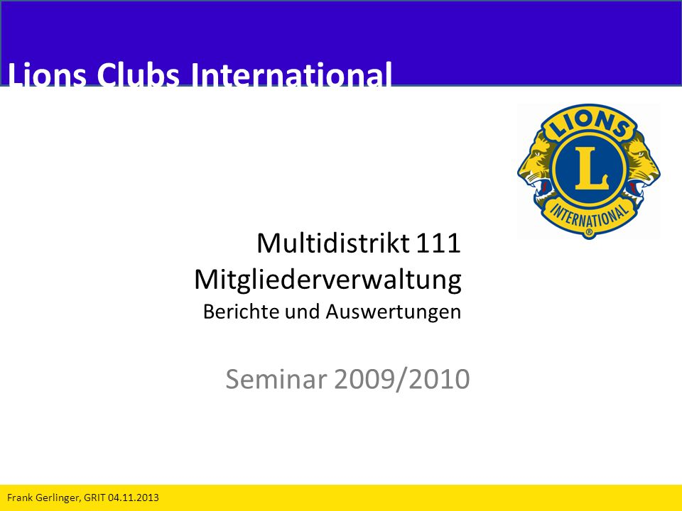 Lions Clubs International