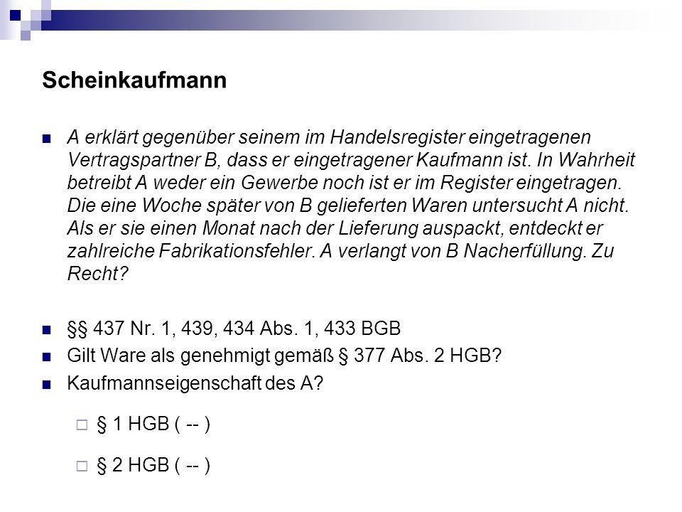 Scheinkaufmann