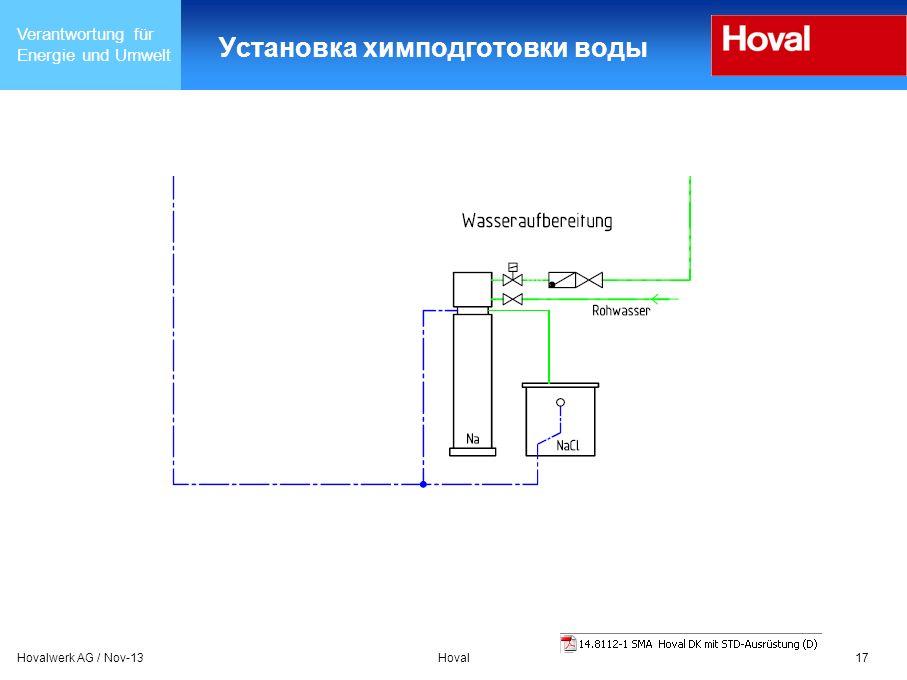 Установка химподготовки воды