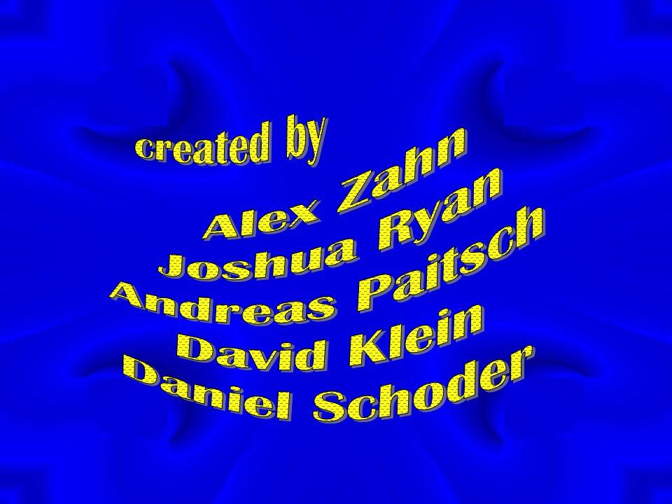 Alex Zahn Joshua Ryan Andreas Paitsch David Klein Daniel Schoder