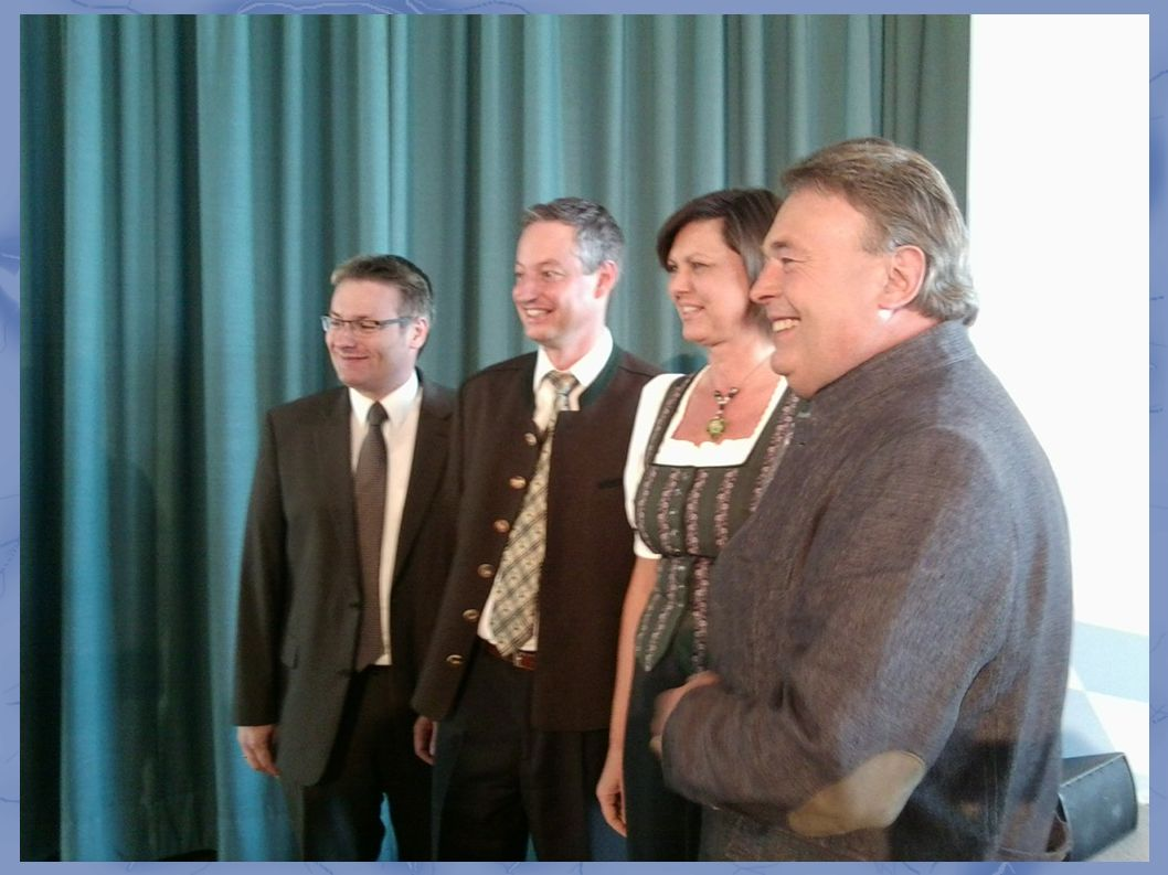 """Zellmeier, Pannermayr, Aigner, Brunner: ...lächeln für die """"Presse"""