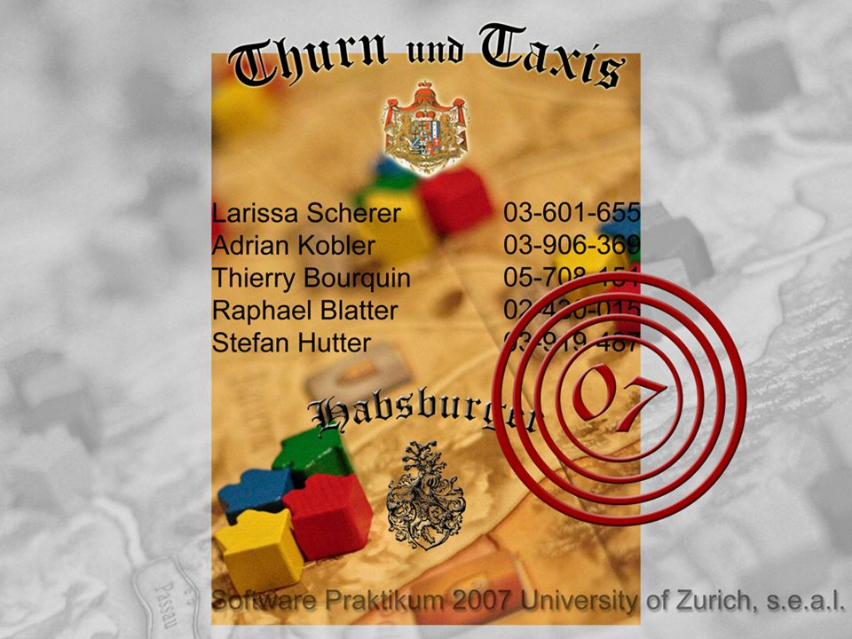 Software Praktikum 2007 Habsburger