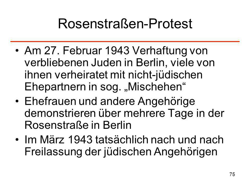 Rosenstraßen-Protest