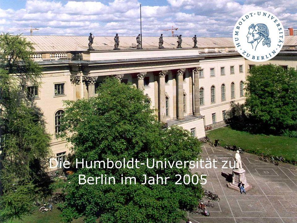 Die Humboldt-Universität zu Berlin im Jahr 2005