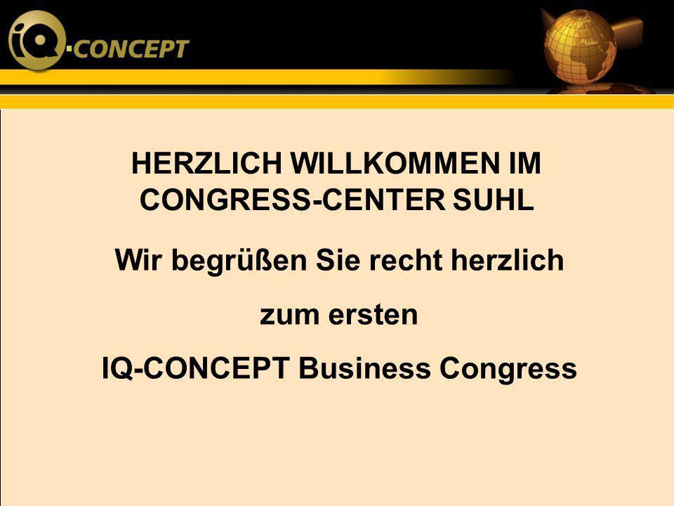 HERZLICH WILLKOMMEN IM CONGRESS-CENTER SUHL