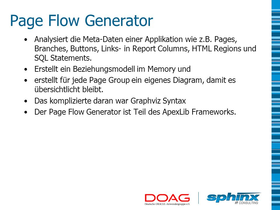 Page Flow Generator