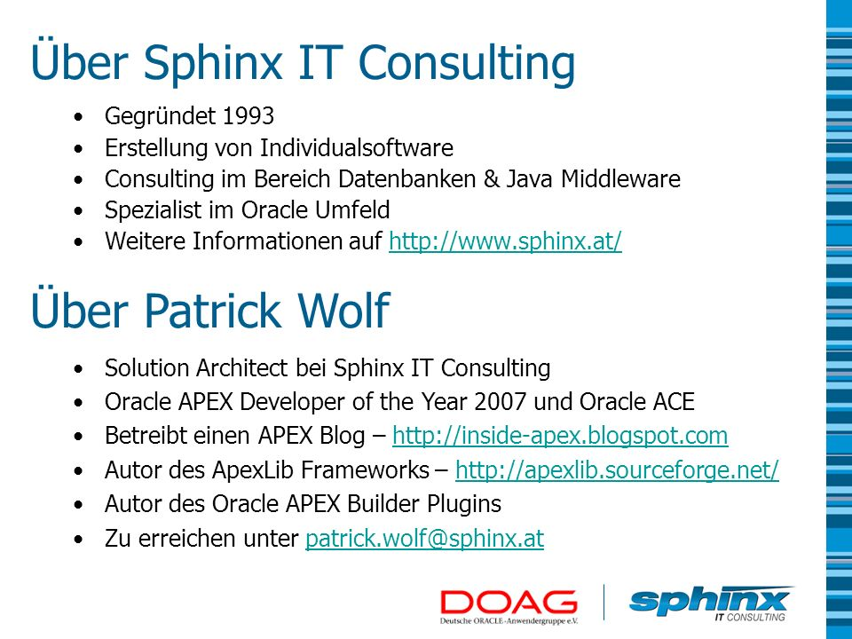 Über Sphinx IT Consulting