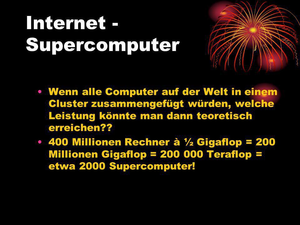 Internet - Supercomputer