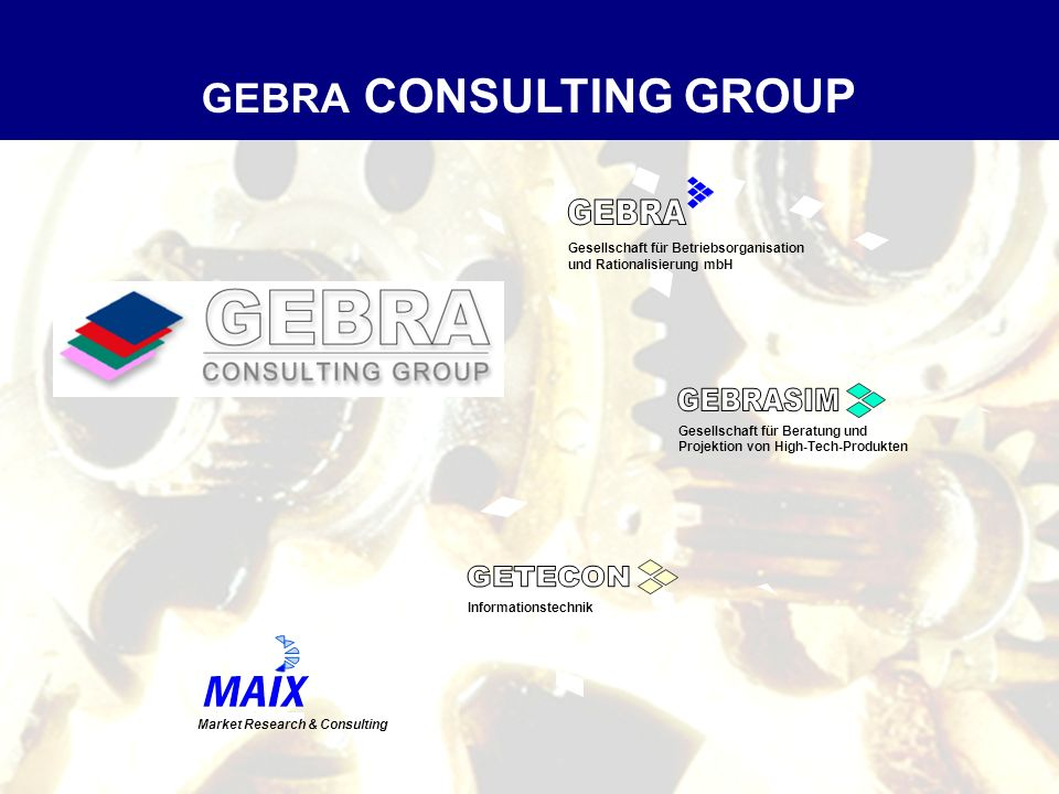 GEBRA CONSULTING GROUP