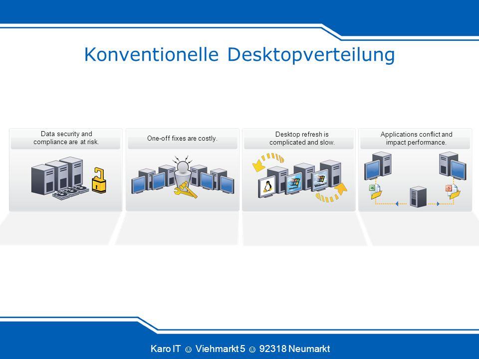 Konventionelle Desktopverteilung