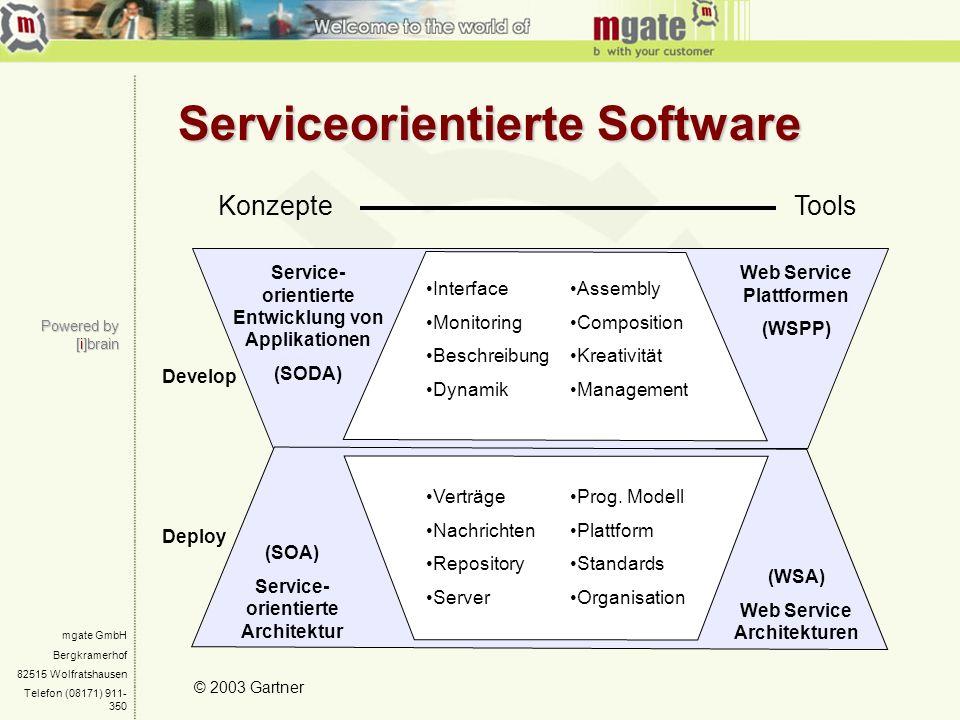 Serviceorientierte Software