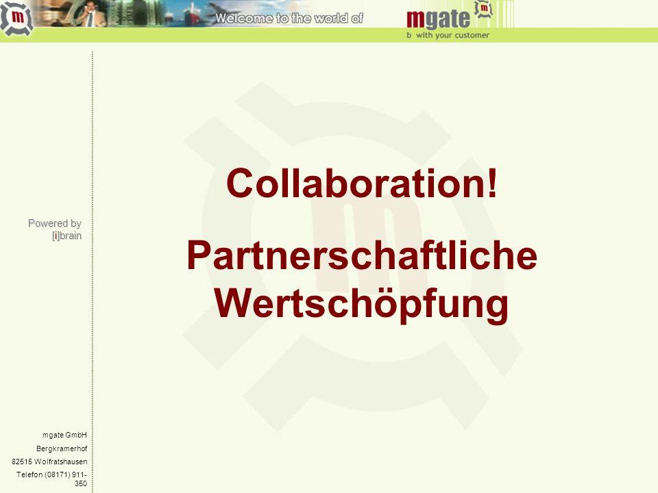 Partnerschaftliche Wertschöpfung