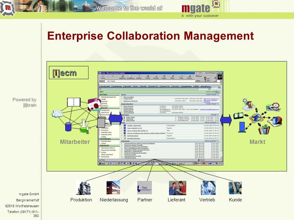 Enterprise Collaboration Management