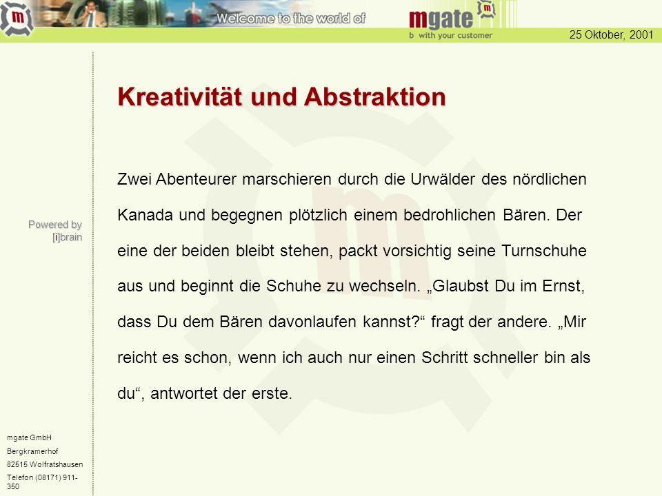 Kreativität und Abstraktion