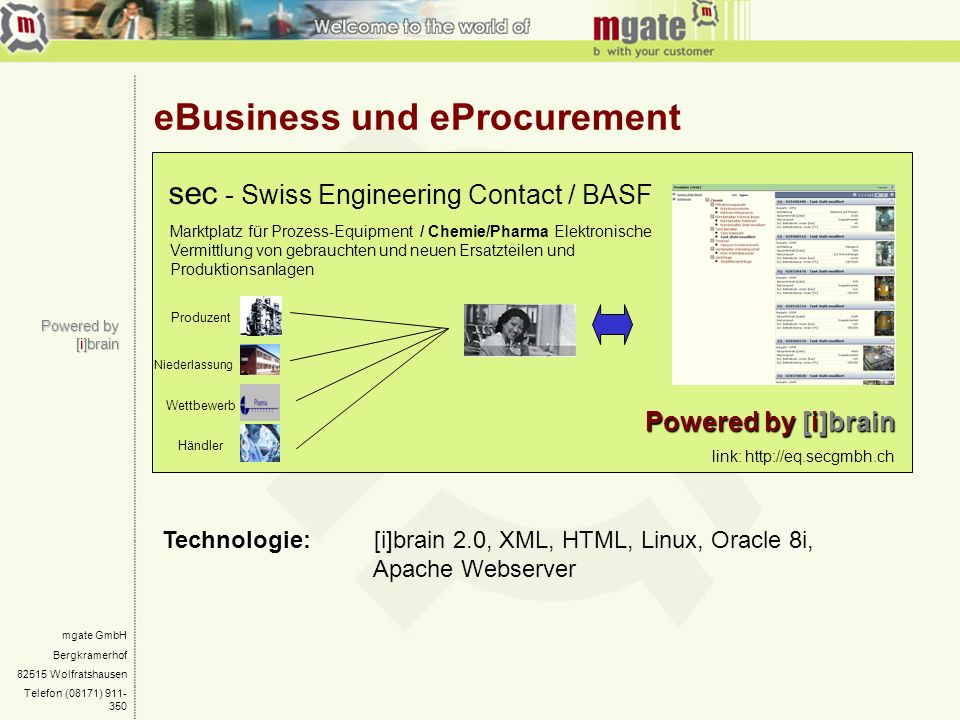 eBusiness und eProcurement