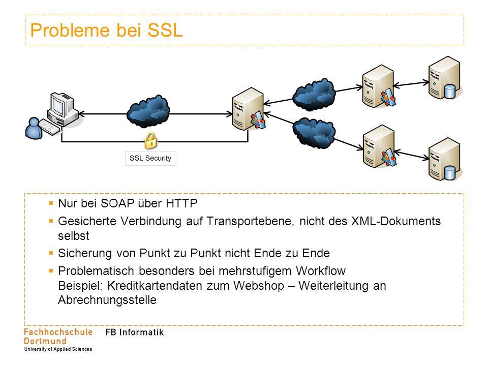 Probleme bei SSL Nur bei SOAP über HTTP