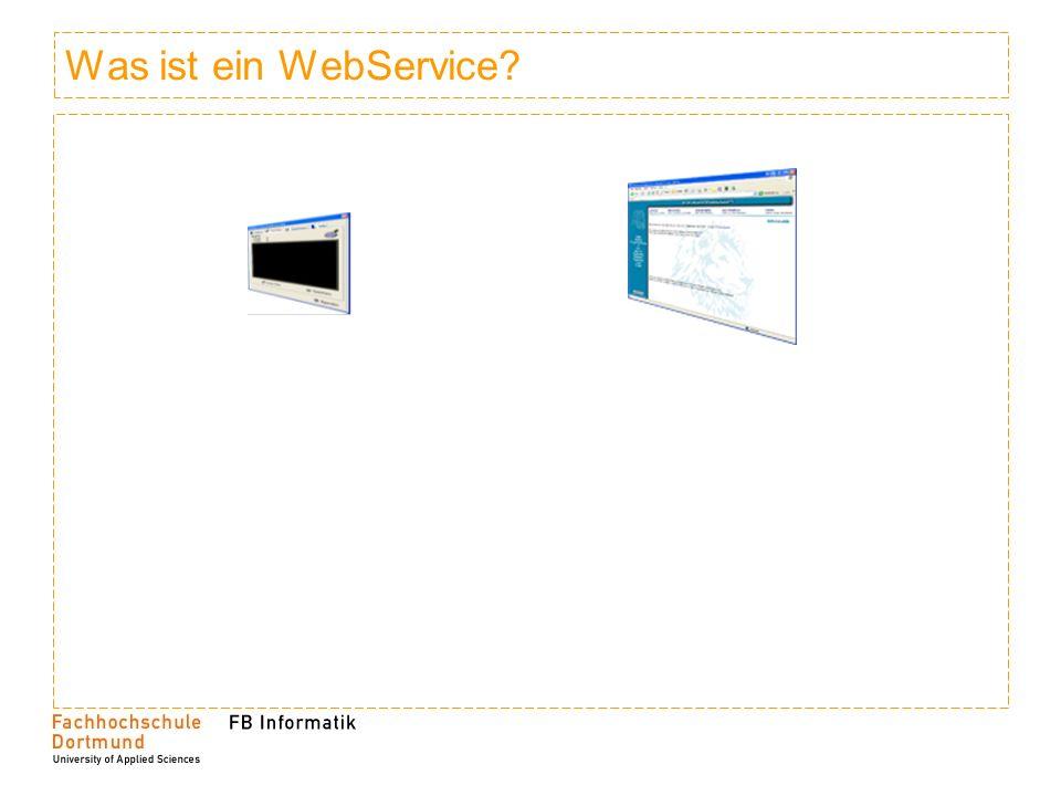 Was ist ein WebService
