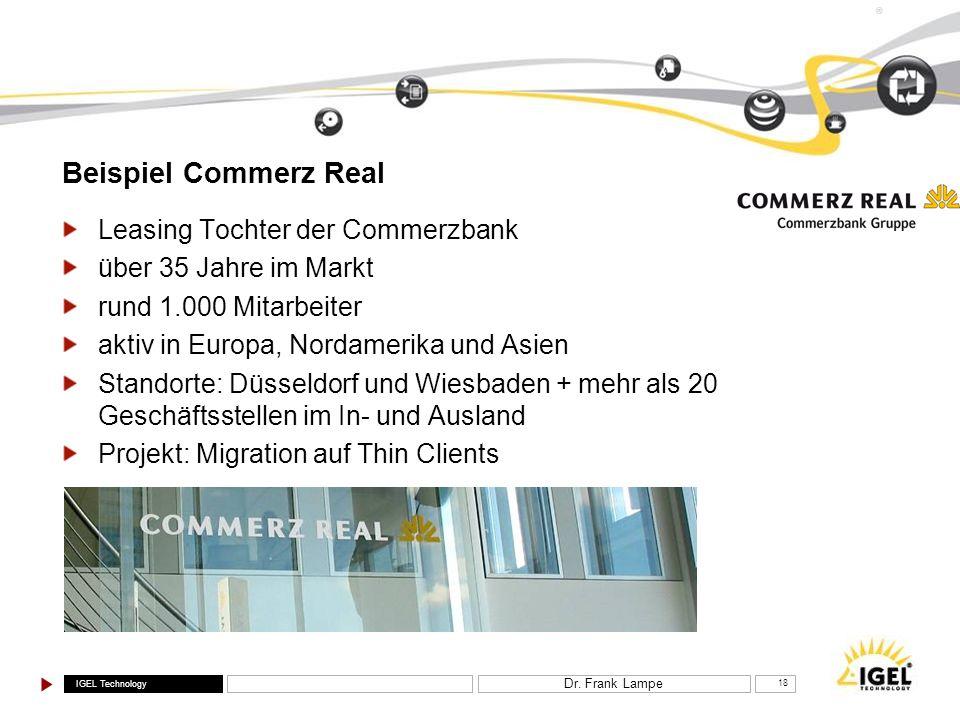 Beispiel Commerz Real Leasing Tochter der Commerzbank