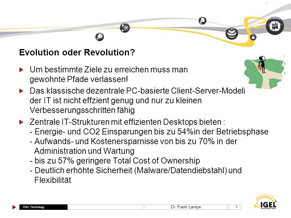 Evolution oder Revolution