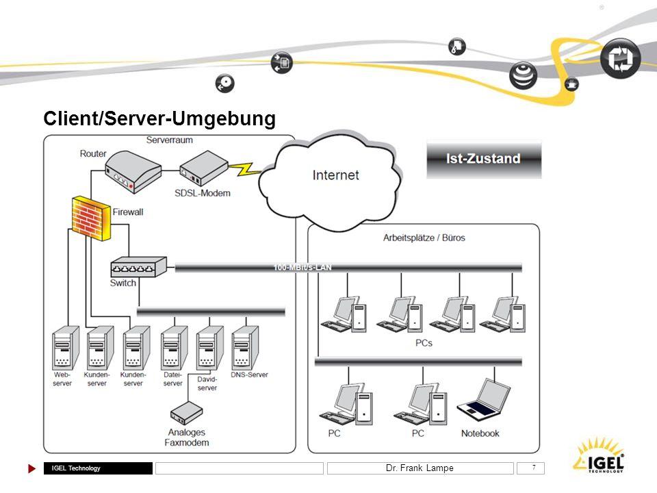 Client/Server-Umgebung