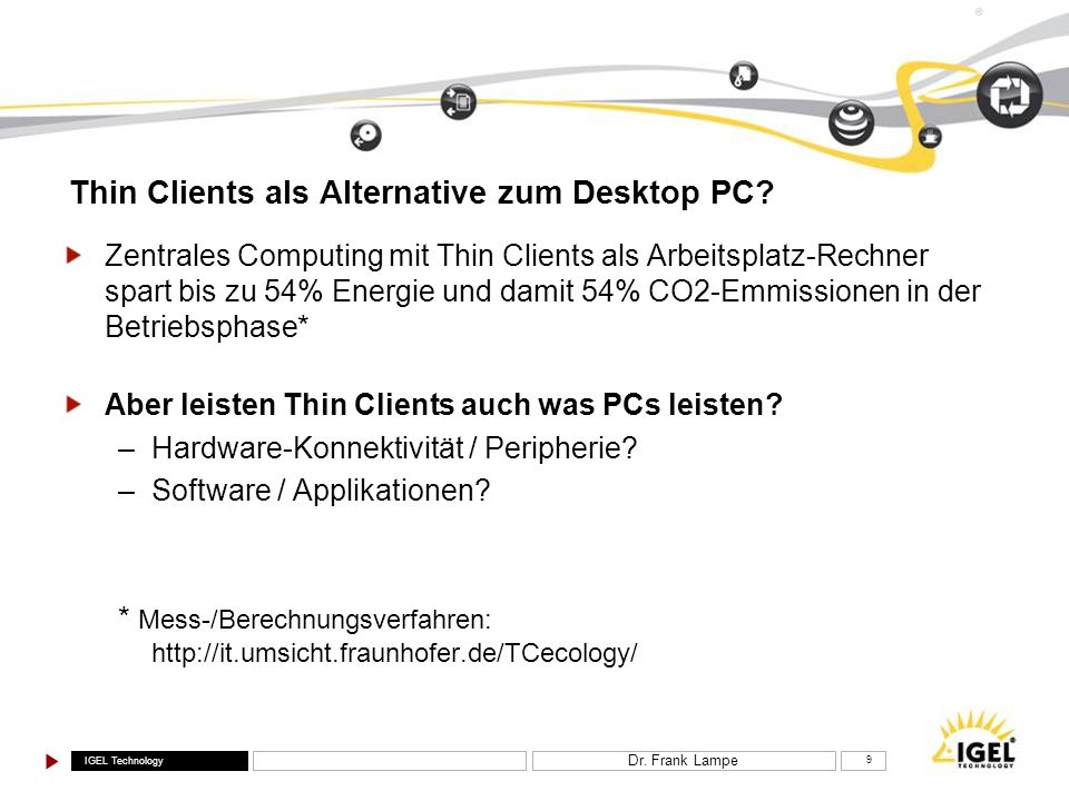 Thin Clients als Alternative zum Desktop PC