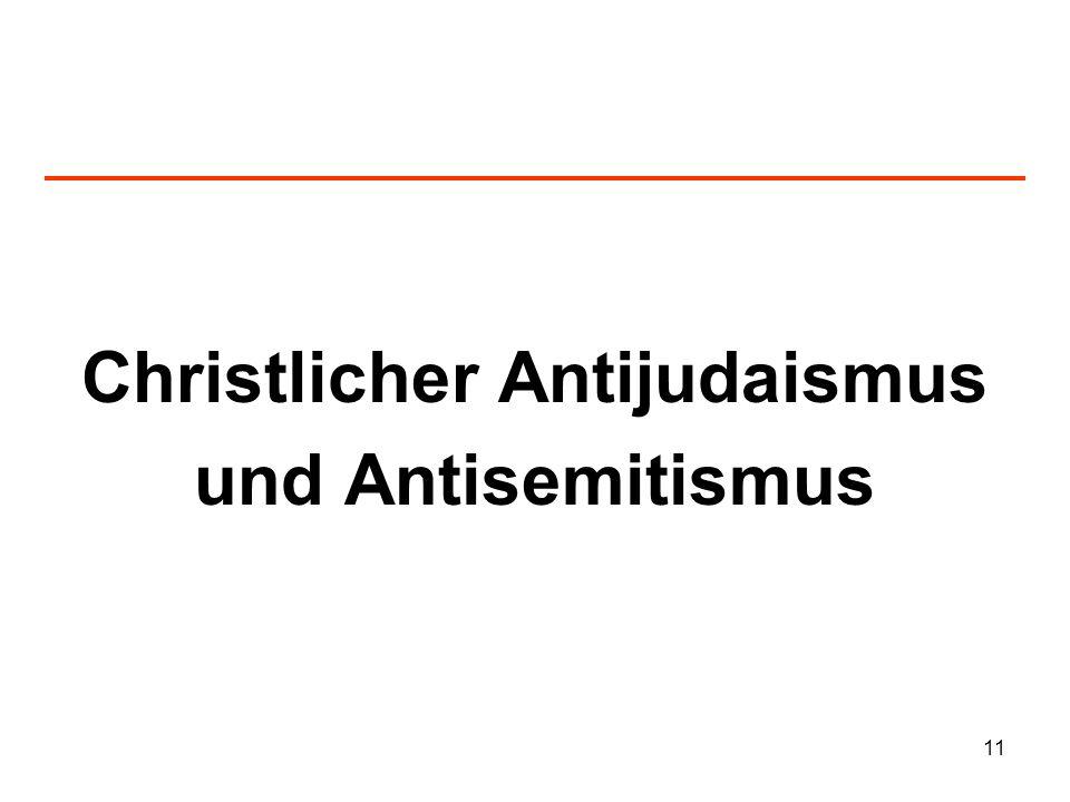 Christlicher Antijudaismus
