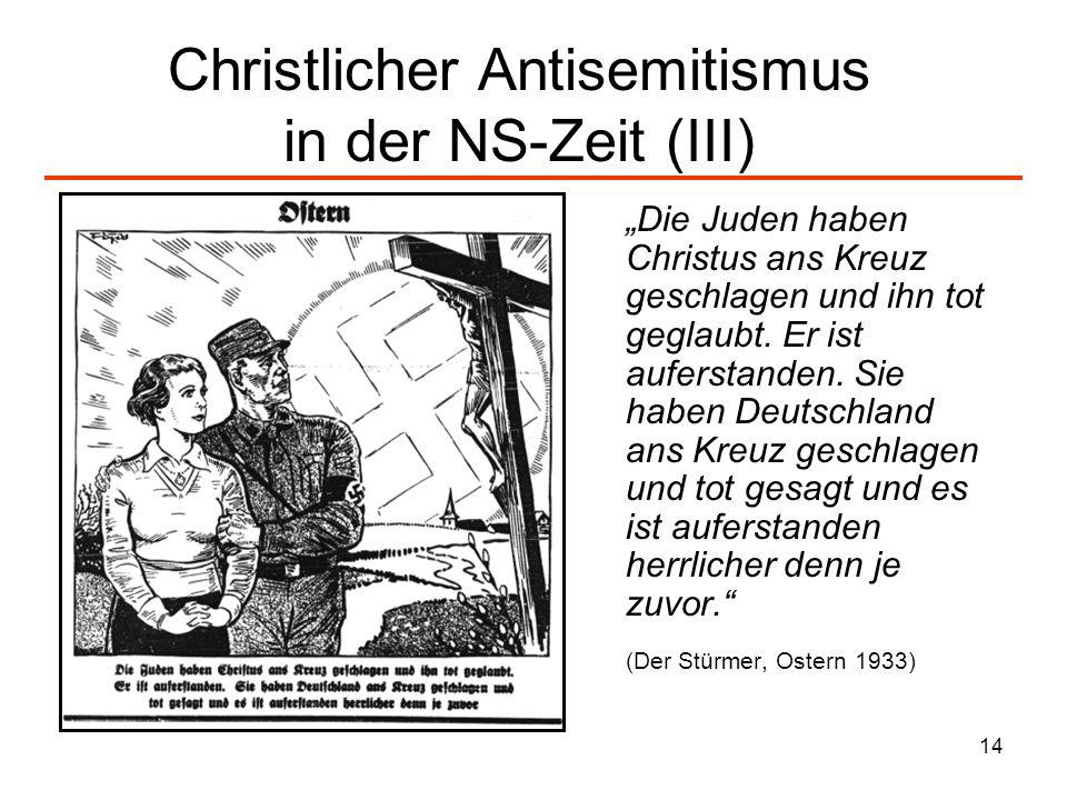 Christlicher Antisemitismus