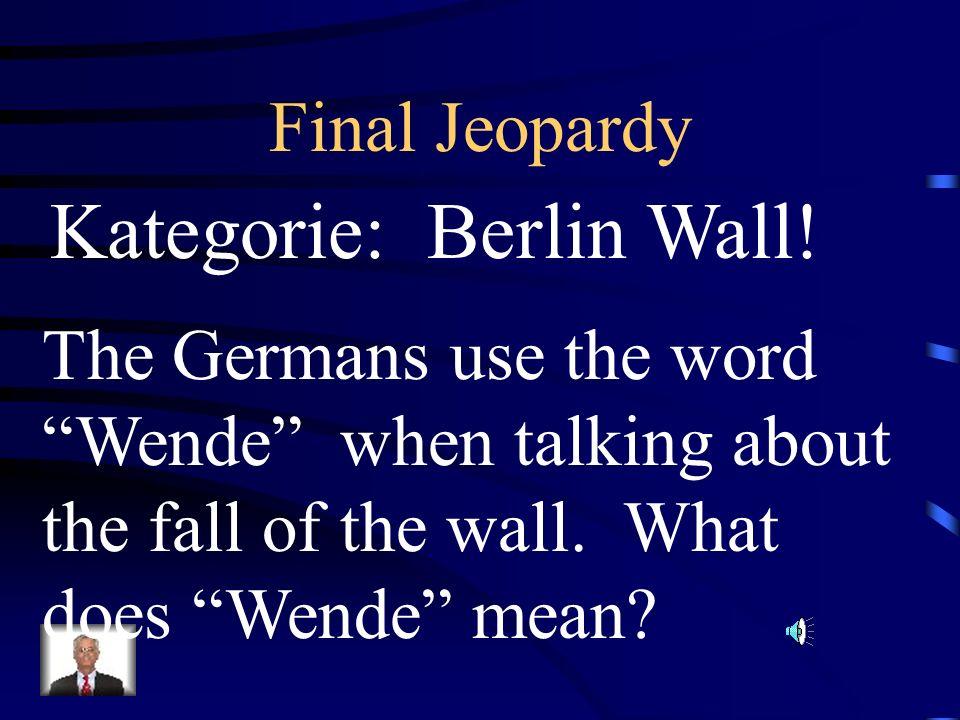 Kategorie: Berlin Wall!