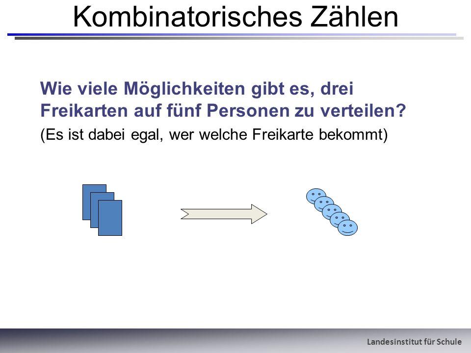Kombinatorisches Zählen