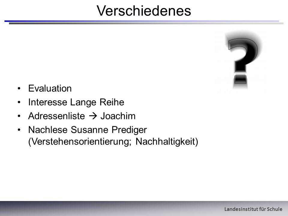 Verschiedenes Evaluation Interesse Lange Reihe Adressenliste  Joachim