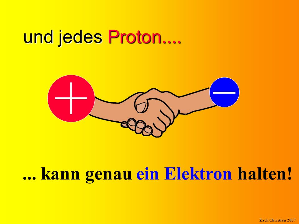 ... kann genau ein Elektron halten!