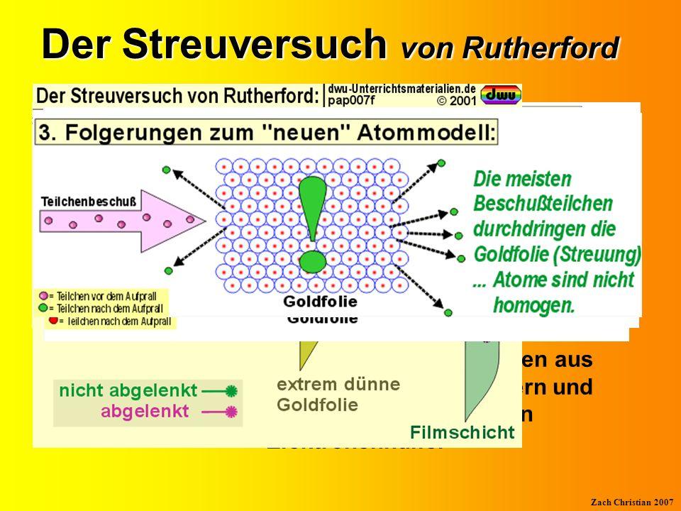Der Streuversuch von Rutherford