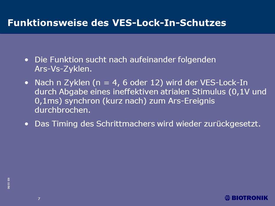 Funktionsweise des VES-Lock-In-Schutzes