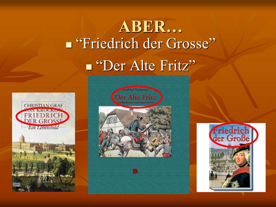 Friedrich der Grosse