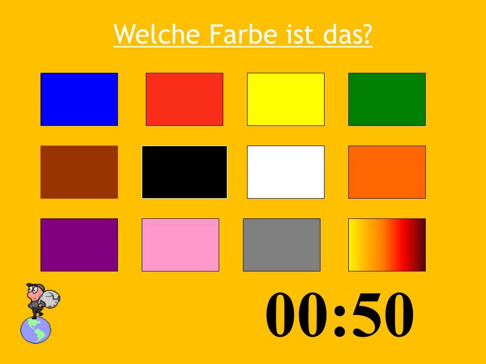 Welche Farbe ist das 00:50 03:53
