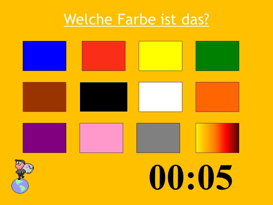 Welche Farbe ist das 00:05 03:53