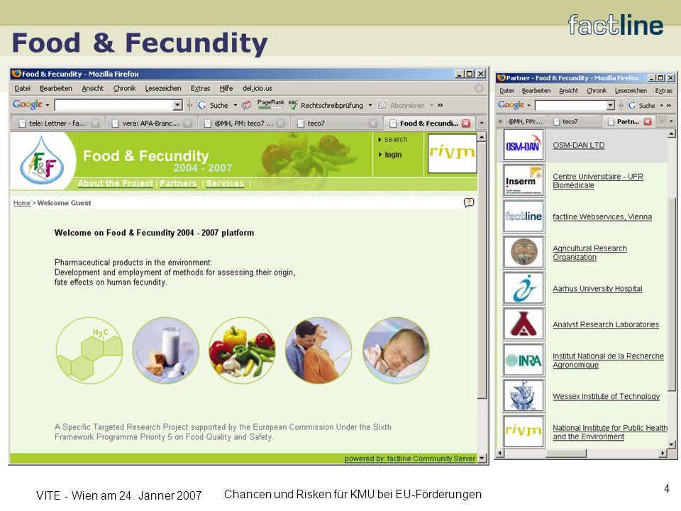 Food & Fecundity Kommunizierbarkeit der Innovation (Verkauf)