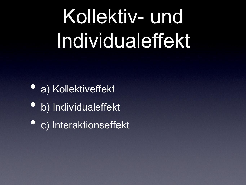 Kollektiv- und Individualeffekt