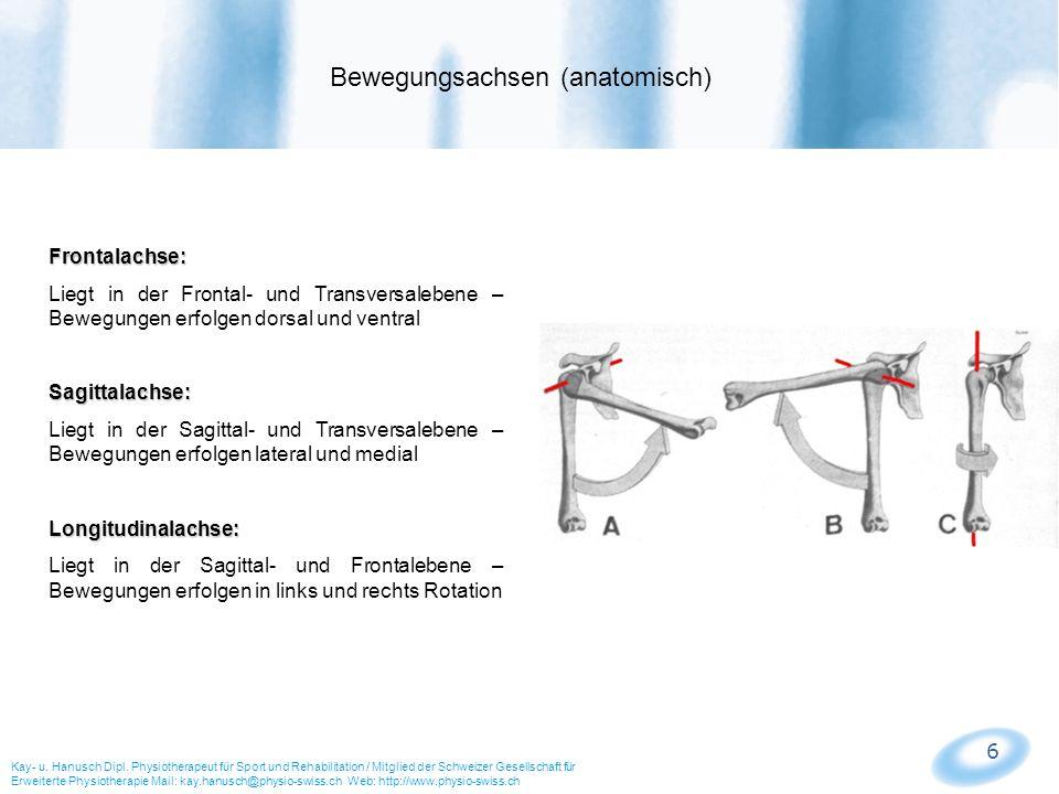 Bewegungsachsen (anatomisch)