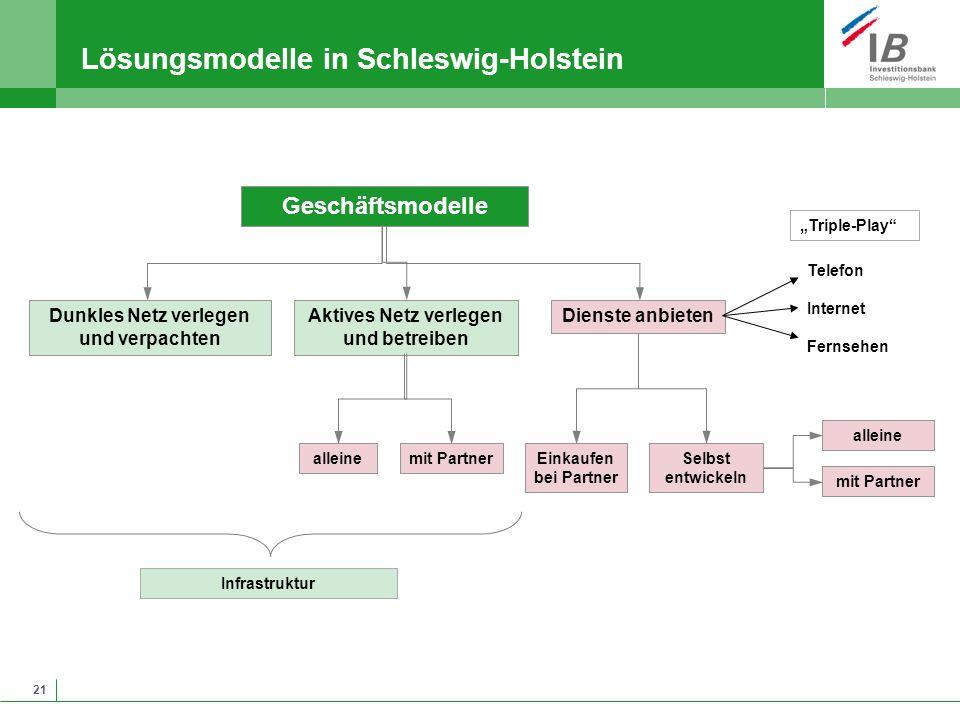 Lösungsmodelle in Schleswig-Holstein