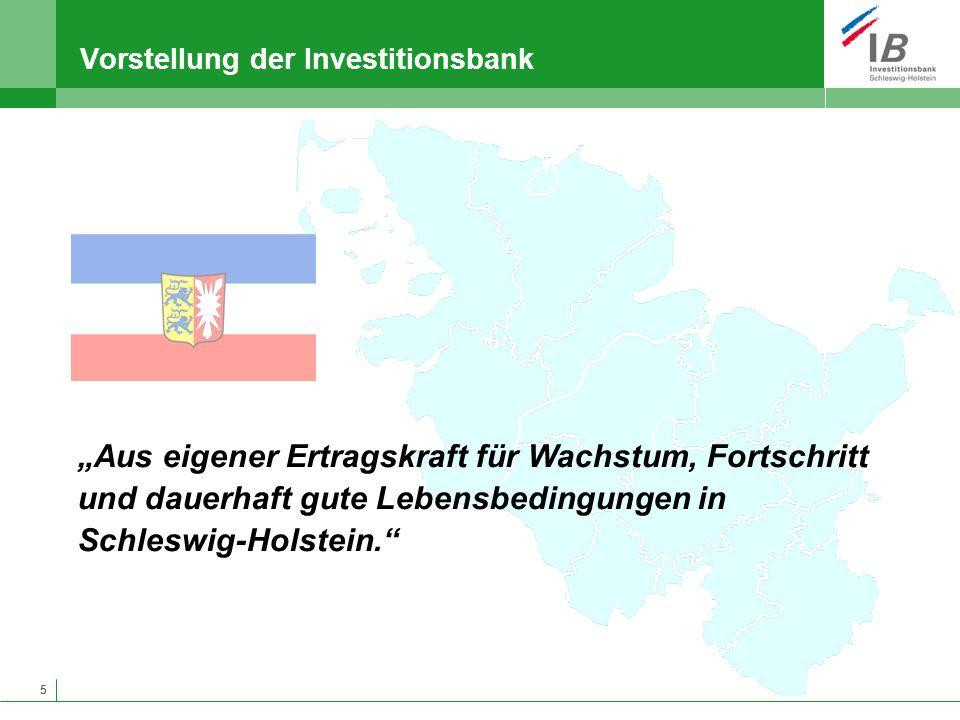 Vorstellung der Investitionsbank